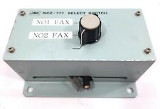 JRC NCZ-777 Marina Navigational Radio Cámara Sobre Selector Switch Instrumento
