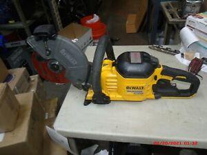 DeWALT DCS690 FLEXVOLT 60V Cut Off Saw Kit Battery Plus Charger