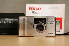 Pentax uc-1 (ESPIO mini) 35mm film camera 32mm f3.5 lens film tested