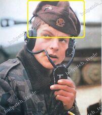 Bulgarian Army Soldier WINTER WOOL FRIEZE Uniform CAP w/t COCKADE Badge