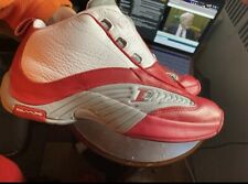 Reebok Answer IV (White/Red) With Box
