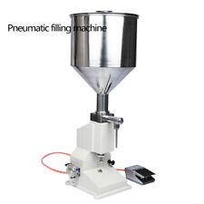 5-50ml Pneumatic Paste Liquid Filling Machine For Cream/Shampoo/Cosmetic