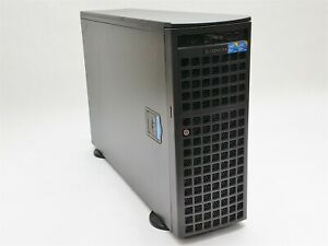 Supermicro 7046GT-TRF Tower Server 2* Xeon E5520 2.27GHz 48GB NO CADDY 9650SE