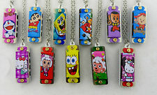 AU SELLER New children kids 4 holes mini mouth organ harmonica