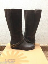 UGG CHANNING II JAVA LEATHER RIDER BOOTS US 7 / EU 38 / UK 5.5