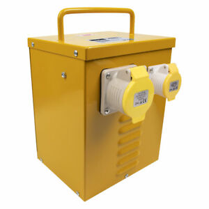 Sealey 5kVA Portable Vented Transformer 16/32A Outlets