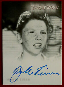 TWILIGHT ZONE - JOHNNY EIMAN - Personally Signed Autograph Card