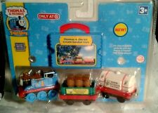 THOMAS  TAKE ALONG THOMAS  & THE ICE CREAM SUNDAY CARS DIE CAST METAL  3+ YR NEW