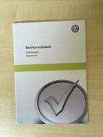 VW VOLKSWAGEN PASSAT SERVICE BOOK NEW UNUSED NOT DUPLICATE GOLF GTD GTI TFSI CC