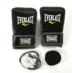 Everlast SG70-50 Boxing Training Starter Kit Gloves & Wrap L/XL 7502LXLU New