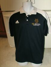 Uci Anteaters men's Basketball Team issue polo pullover shirt Xl Adidas