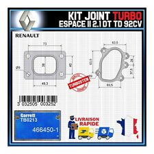Joints Turbo 2.1 dT TD 92 Cv Renault Espace  Garrett TB0213 466450-1
