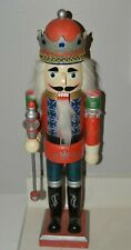 """Nice Handmade Sparkly 24.5"""" Huge Christmas Wooden Nutcracker Soldier Minty Rare"""