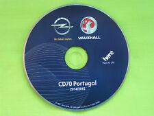 NAVIGATION OPEL CD 70 NAVI PORTUGAL 2015 ZAFIRA ASTRA CORSA SIGNUM VECTRA TIGRA