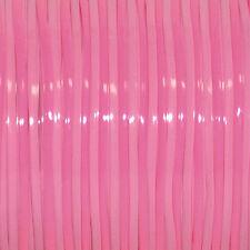 100 YARDS (91m) SPOOL DUO MAGENTA PINK REXLACE PLASTIC LACING CRAFTS CYBERLOX