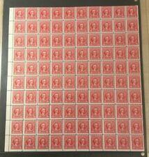 #R661 20 cent Documentary internal revenue stamps full mint sheet of 100 MNH OG