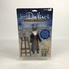 Accoutrements 2005 Leonardo Da Vinci Action Figure Item 11520 Carded