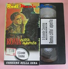 film VHS cartonata ROMA CITTA' APERTA A. Fabrizi A. Magnani 1945 (F36*) no dvd
