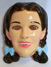 Vintage Wizard of Oz Dorothy Halloween Mask Judy Garland Movie Hollywood Dorthy