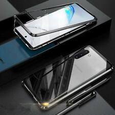 For Samsung Galaxy Note 10 / Plus Magnetic Absorption Tempered Glass Case Cover