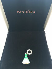 Pandora Argento Sterling Disney Ariel's dress Dangle Ciondolo S925 ALE 791577ENMX