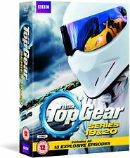 Top Gear - Series 19 And 20 - Complete (DVD, 5-Disc Set) No Sleeve