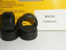 Scalextric - W9036 Dodge Viper Front and Rear Tyres - NEW