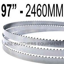 "Butchers Meat Bandsaw Blades (5 Pack). 97"" (2460mm) X 5/8"" X 4tpi"