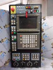 """Fanuc A02B-0120-C122/Ma A61L-001-0215#B 9"""" Mdi Keyboard & Lcd Interface Panel #1"""
