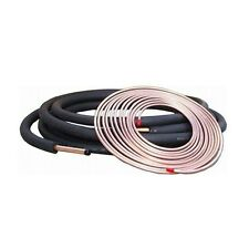 3/8 x 7/8 Copper Refrigeration Line Set - 25 Ft. Insulated