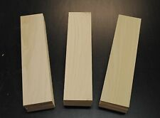 "54 POPLAR THIN BOARDS LUMBER WOOD 1/8"" x 3-1/2"" x 12-1/2"" SCROLL SAW CRAFTS"