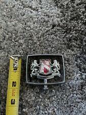Vintage OEM Buick Chrome Hood Ornament Knight & Shield, Metal, Used