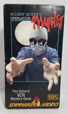 Ellery Queen's Operation: Murder VHS Mystery Game (Spinnaker, 1986)