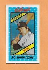 Carlton Fisk 1980 Kelloggs 3-D Superstars Tarjeta #41