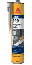 Sikaflex Pro Polyurethane Sealant Caulk Multipurpose 310ml Black