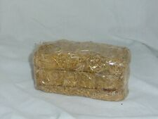 Small hay straw tied bale accent decoration decor craft new in orig sealed wrap
