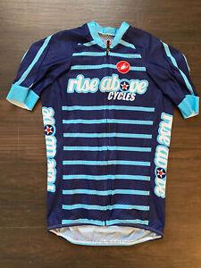 Castelli Climbers Jersey Small Blue Tour De France Sky Ineos