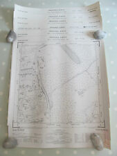 Set di 6 Vintage OS mappe in scala 1: 1250 parti di area DORKING Inc 2 Mazze Da Golf