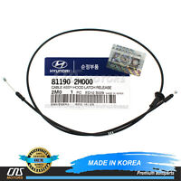 Hood Latch Release Cable New Oem For 07-10 Hyundai Elantra 811902H100