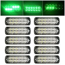10X 12 LED Car Truck Emergency Beacon Warning Hazard Flash Strobe Light 12-24V