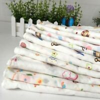 10pcs/Set Cartoon Cute Square Cotton Bath Wash Baby Towel Handkerchief Soft