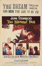THE WAYWARD BUS Movie POSTER 27x40 Joan Collins Jayne Mansfield Dan Dailey Rick