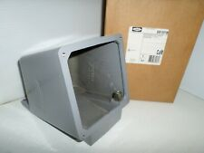 New Hubbell Bb1001w 100 Amp Pinampsleeve Receptacle Back Box 100a125a 1 12