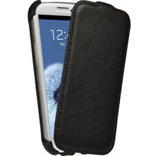 Nero Pelle Custodia per Samsung Galaxy S3 III i9300 Android Case Cover