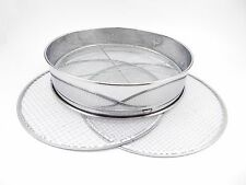 Soil Sieve w/ Net 3pcs Replaceable Stainless steel frame 370mm Japan Bonsai