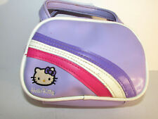 Hello Kitty Vintage Girls Small Cosmetic Make Up Travel Handbag / Case Cute!