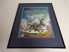 Disenchantment Cast Signed Framed 16x20 Poster Display AW B