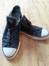 rare converse UK Size 9. Rock and Roll. studded.