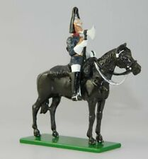 Blues & Royals Mounted Farrier - BTS157 British Toy Soldier Company Glossy Mini