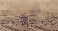 Costantinopoli Turchia Stereo Decollée Da Son Cartone Vintage Albumina Ca 1860